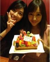 【エンタがビタミン♪】篠田麻里子&松井珠理奈 「ちんさんお誕生日」をお祝い