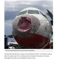 【海外発!Breaking News】激しいひょうでレーダー全滅 絶体絶命の着陸を強いられたトルコの旅客機<動画あり>