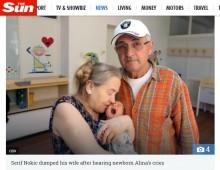 【海外発!Breaking News】60歳で出産した女性 68歳夫が「この年で赤ん坊と暮らせない」と別居(セルビア)
