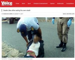 【海外発!Breaking News】警察官に追われてヘロインを飲み込んだ男、逃走後すぐ死亡(南ア)