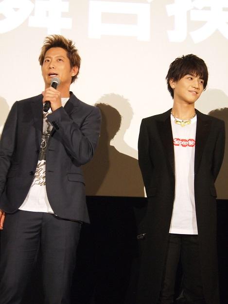朝から同作PRのためTV出演していた黒木啓司と岩田剛典