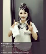 """【エンタがビタミン♪】AKB48横山由依 人生初の""""クリーム砲""""になぜか嬉しそう"""
