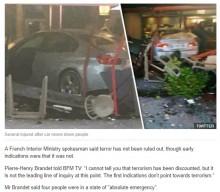 【海外発!Breaking News】パリ郊外でピザレストランに車が突っ込む 多数の死傷者