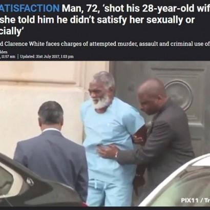 【海外発!Breaking News】72歳夫が28歳妻の顔面を撃つ 「アンタは金もないし夜も不満」に逆上(米)