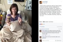 【海外発!Breaking News】末期がん女性の最期の願い 「ミルクシェイク」が州を越えて届く(米)