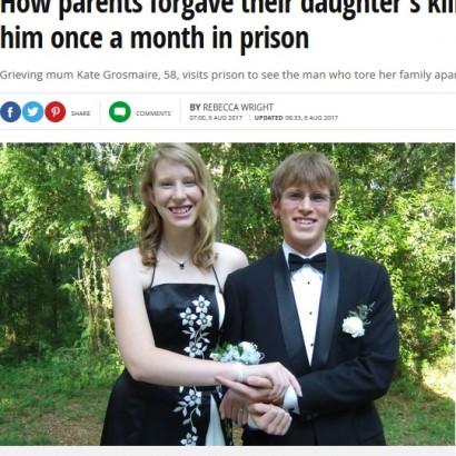 【海外発!Breaking News】娘の命を奪った男を許し、刑務所で面会し続ける両親(米)