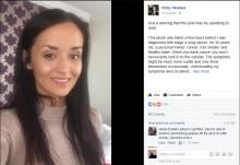 【海外発!Breaking News】「ステージ4の肺がん」宣告受ける数時間前の写真をFacebookに投稿した英女性