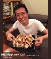 """【エンタがビタミン♪】遠藤憲一 嵐との""""肉より魚デスマッチ""""終えて「毛ガニ食べてます」"""