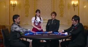 GACKTが見守る中で、タイマン勝負する山田孝之と塚本高史(c)AbemaTV