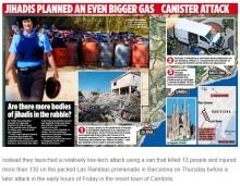 【海外発!Breaking News】スペインテロ犯人グループ 大量のガスボンベをバンに積み「サグラダ・ファミリア教会」爆破も計画