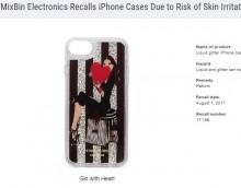 【海外発!Breaking News】人気のグリッターリキッド「iPhoneケース」続々とリコール 漏れ出た液体で化学やけど(米)