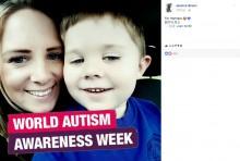 【海外発!Breaking News】叫ぶ自閉症の息子に「うるさい」と匿名の手紙 母親の反論に賛否の声(英)