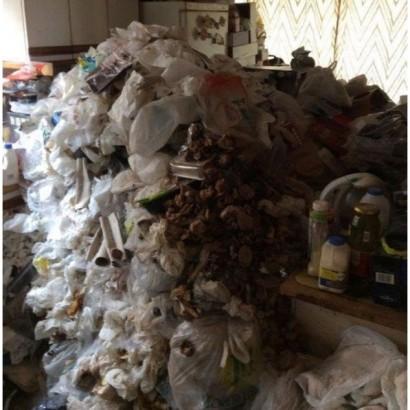 【海外発!Breaking News】清掃に5日間 老夫婦のゴミ屋敷に業者「最大のチャレンジだった」(英)