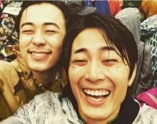 【エンタがビタミン♪】間宮祥太朗&成田凌がフジロック満喫 最高の笑顔に「歯になりたい」の声
