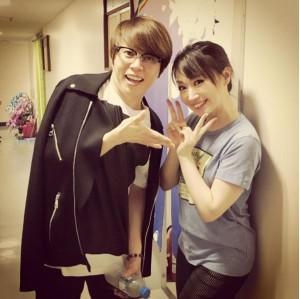 【エンタがビタミン♪】西川貴教、水樹奈々の主演ミュージカルを観劇 2ショットが「最高すぎる」