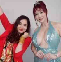 【エンタがビタミン♪】平野ノラ&叶美香の2ショットに衝撃 「ノラさんの顔と同じ大きさ!」