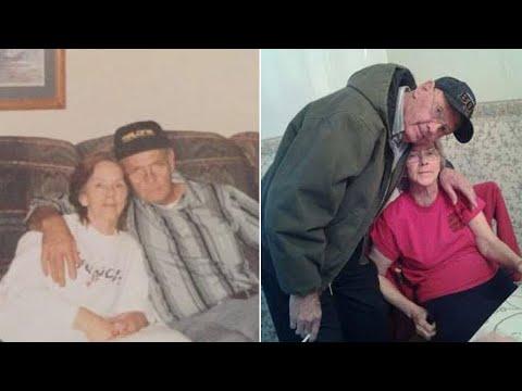 何をするのも一緒だった夫婦、同じ日に天国へ(画像は『Inside Edition 2017年8月2日公開 YouTube「Couple Married 63 Years Dies Hours Apart:'That's the Way They Wanted to Go Out'」』のサムネイル)