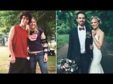 【海外発!Breaking News】10年前自殺を止めてくれた女性と結婚した米男性<動画あり>