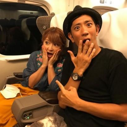 【エンタがビタミン♪】アンタ柴田&矢口真里 意味深2ショットに「恋人繋ぎで寝てほしかった」の声