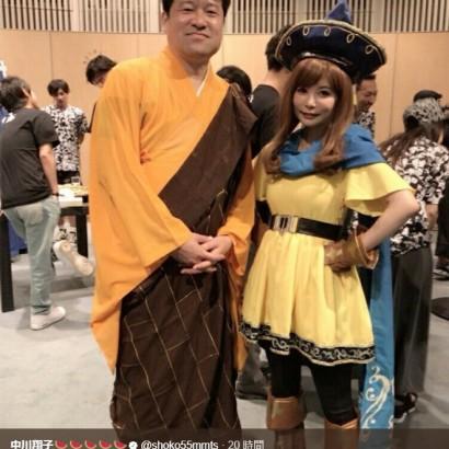 """【エンタがビタミン♪】中川翔子 """"仏の子供""""の成長に驚き「ますます似ています!」"""