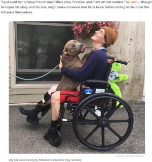 【海外発!Breaking News】交通事故に巻き込まれた男性 行方不明になった愛犬と再会果たす(米)