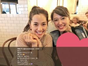 【エンタがビタミン♪】中村アン、NYで里田まい家族と一緒に朝食「日本じゃ、友だちと朝ごはんしたことない」