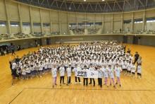 【エンタがビタミン♪】EXILEメンバー、被災地・宮城県へ 中学生600名と『Rising Sun』でダンス交流