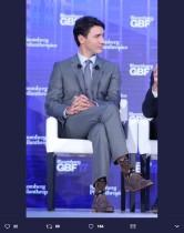 【イタすぎるセレブ達】カナダのイケメン首相 なんと「チューバッカ」靴下で登場