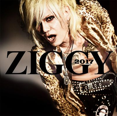 ZIGGYニューアルバム『2017』のジャケ写