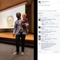 【海外発!Breaking News】「子育て中でも頑張って授業に」講義中、赤ちゃんをずっと抱っこしてくれた准教授(米)