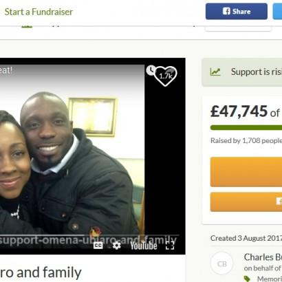 【海外発!Breaking News】同じ病と闘った夫婦、妻の葬儀当日に夫も死去 残された5人の子供に寄付集まる(英)