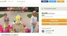 【海外発!Breaking News】給食費を払えない児童のために、6歳少女がレモネードスタンドを開く(米)