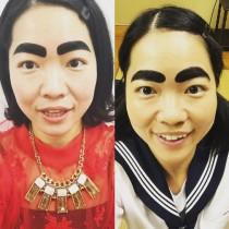 """【エンタがビタミン♪】イモトアヤコの""""眉毛の違い""""に「わかったぞ!」「分かんない」ファン二極化"""