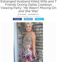 【海外発!Breaking News】別居で傷心の夫がパーティ開催中の妻宅を急襲 友人含む8名を射殺(米)