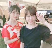 【エンタがビタミン♪】Negicco Nao☆が声優・上坂すみれと2ショット「はぁ…可愛かった」
