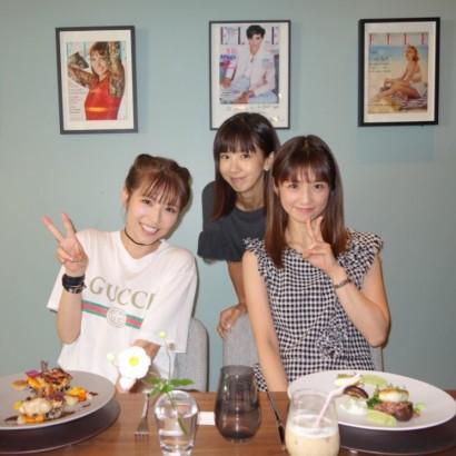 【エンタがビタミン♪】小倉優子、若槻千夏、ほしのあきの3ショットに驚きの声「みんな20代に見える!」