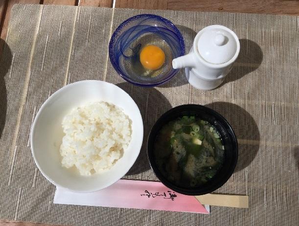 ハワイで卵かけご飯が食べられる