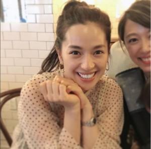 里田まいが投稿した中村アンとのショット(画像は『里田まい 2017年9月13日付Instagram「ずっと会いたいなぁって思っていて、会えた人。」』のスクリーンショット)