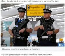 【海外発!Breaking News】機内で酔っ払った夫婦が大喧嘩 空港では武装警官がお出迎え(英)