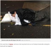 【海外発!Breaking News】雨降る路上で倒れた高齢女性、身動き取れないまま通報から3時間以上救急車を待つ(英)