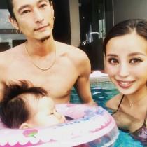 【エンタがビタミン♪】窪塚洋介、バリ島で生後3か月の娘とプールで遊ぶ 家族旅行の写真がどれも素敵!