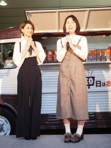 まさかのハイウエストの衣装がかぶったダレノガレ明美と誠子