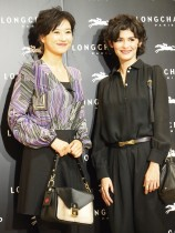 【エンタがビタミン♪】菊川怜、感激 仏女優オドレイ・トトゥと対面「大興奮しています」