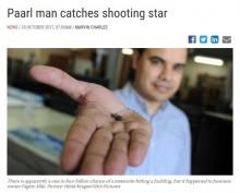 【海外発!Breaking News】隕石落下で家具店の屋根に穴 「確率40億分の1」と知り店主も驚く(南ア)