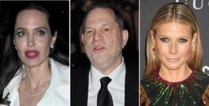 """【イタすぎるセレブ達】アンジェリーナ・ジョリー、グウィネス・パルトロウも被害激白 """"映画界大物""""ハーヴェイ・ワインスタインの非道なセクハラ"""