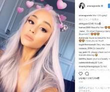 【イタすぎるセレブ達】アリアナ・グランデ、今度は髪を灰色に!