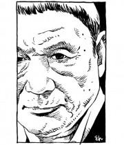 """【エンタがビタミン♪】江口寿史が""""北野武""""のイラスト公開 溢れるオーラが「絵になる男」"""