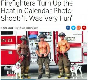 【海外発!Breaking News】消防署員、チャリティーカレンダーの撮影で引き締まったボディを披露(米)<動画あり>