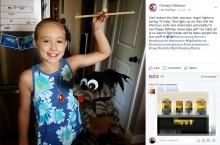 【海外発!Breaking News】8歳で乳がんと診断された少女 病と向き合い前向きに日々を送る(米)
