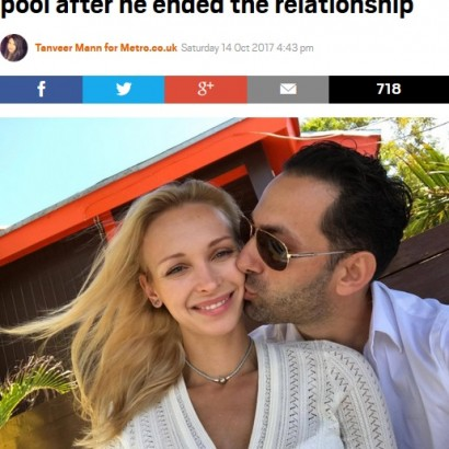 【海外発!Breaking News】フラれた腹いせに元カレの高級車をプールに沈めた女性(バハマ)